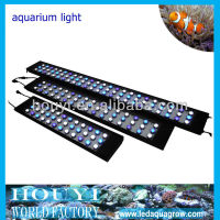 quality assured 48 inch dimmable intelligent 200w led aquarium lighting for coral coralal coralline reef light lamp bulb strip