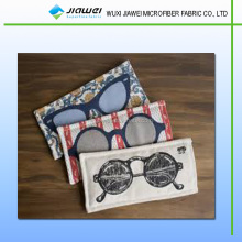High quality drawstring microfiber sunglass pouch