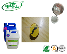 Hard Clear Epoxy Resin No YEllowing AB Glue Adhesive For Metal Top Coating