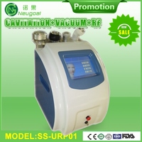 6 handpieces ultrasound cavitation tripolar RF wrinkles removal fat reduction machine