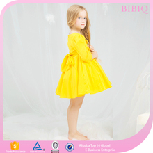 Kids New Design Pretty Girl Dress Children with Knot