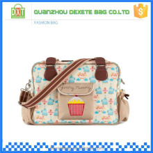 Wholesale lamilation canvas adult baby diaper bag