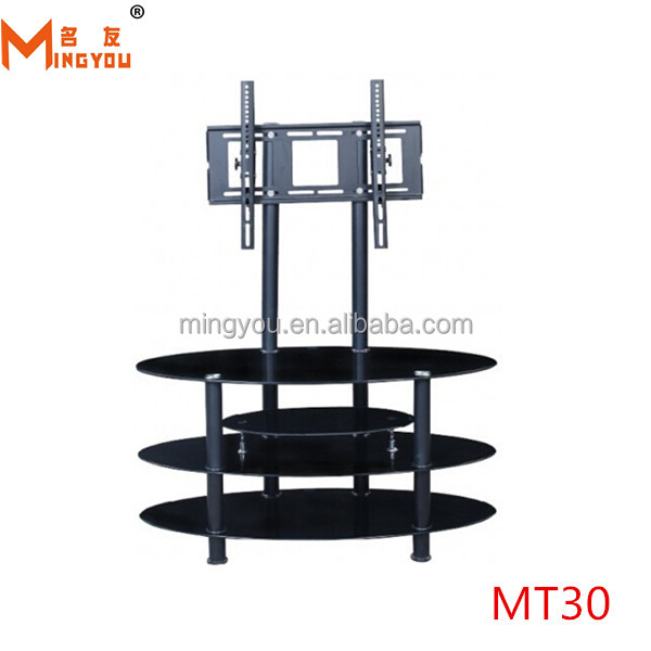 china hot sale glass adjustable tv stands