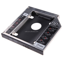 Universal 9.5mm SATA 2nd Hard Drive Caddy SSD HDD Caddy