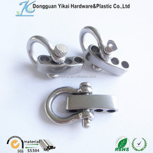 5mm adjustable snap shackle,flat/screw/clevis pin anchor shackle