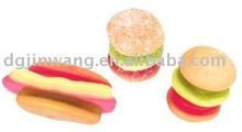 10g Gummy Burger & Hot Dog Candy