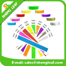 cheap printable disposable paper wristbands for one time use events party