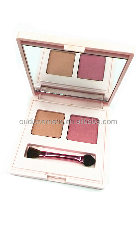 New Products ! cosmetics wholesale professional 2 color blusher powder for female