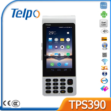 Telepower TPS390 POS Used In Restaurant 3G Table NFC POS Terminal 5 inches Screen POS Terminal