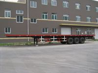 20ft 40ft flatbed / skeleton semi trailer, extendable container chassis