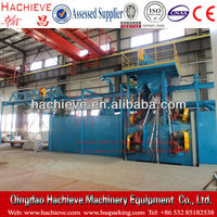 Buffing And Polishing Machine For Steel Plate Or Beam Or Steel Pipe