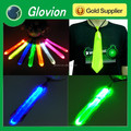 Hot selling reflective tie for decoration shinny flashing tie for new year party favor bow tie