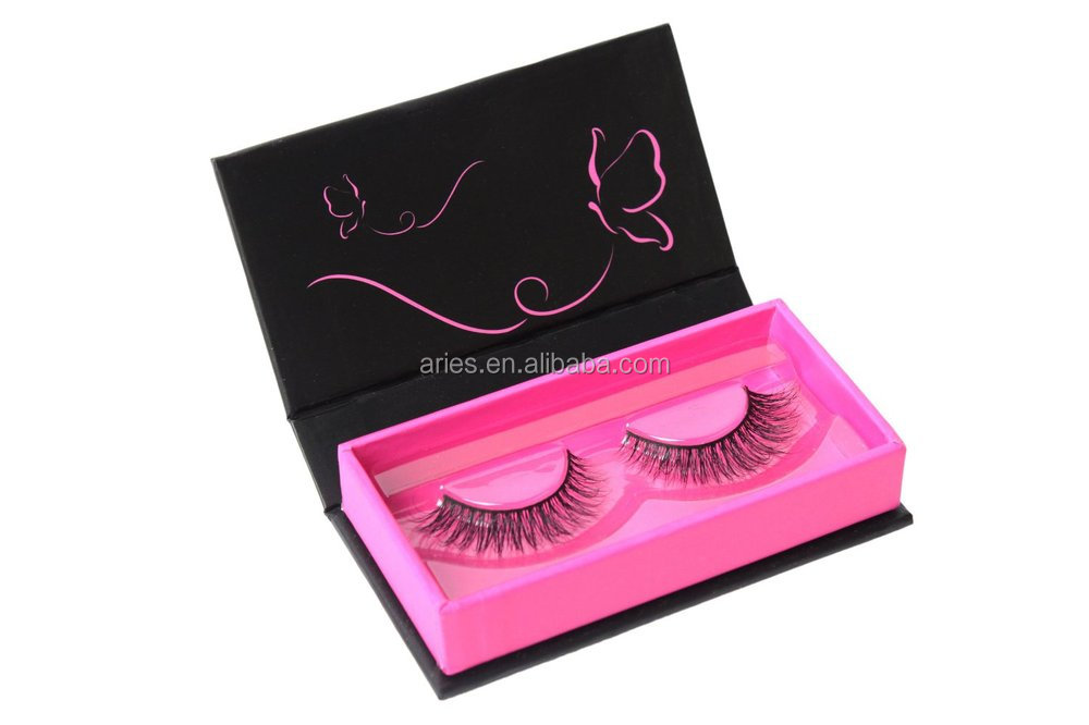prefessional private label false eyelash packaging