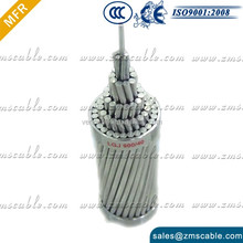 BS 215 ACSR Tiger 125mm2 aluminum section aerial conductor