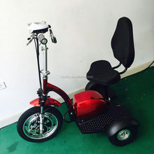 Cooltoy Factory Price 3 Wheels Electric Scooter Mobility Bicycle Zappy Pet ScooterWith Seat