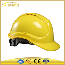 Types of engineering industrial custom construction american safety helmet with chin strap