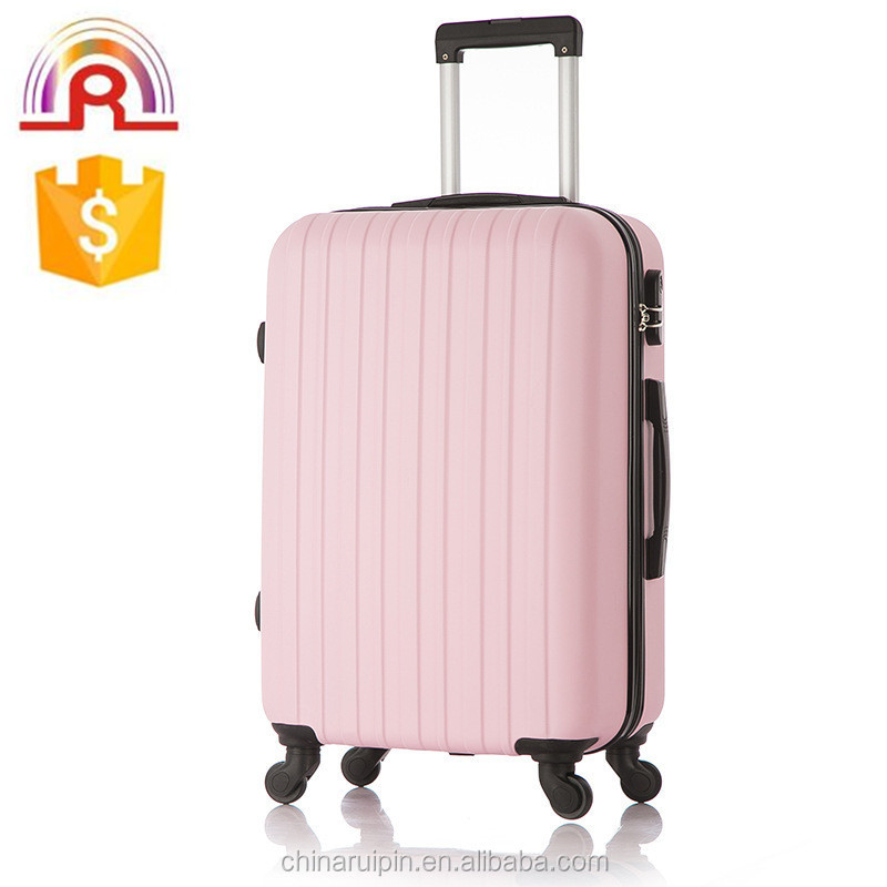 Baby Pink Single Thicker Vertical Line 20 Inch Abs Pc Spinner ...