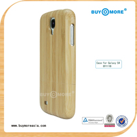2013 Creative design for pc wood bumper cases for samsung galaxy s4