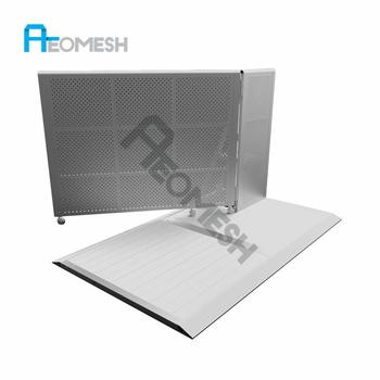AEOMESH Factory Cheap Aluminum Concert Used Crowd Safety Barricades for Sale