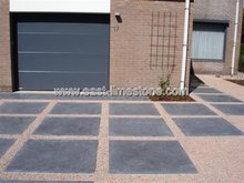 China spotted bluestone paving tile