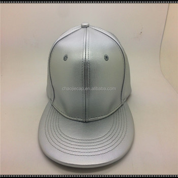 mainland china 6panels blank pu snapback cap