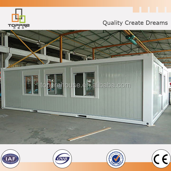 2 Bedroom Living Cabin Expandable flat pack Container House
