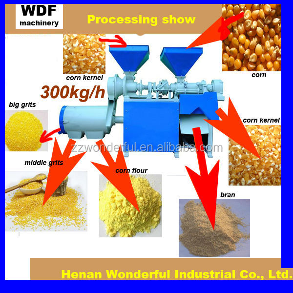 WDF Low price corn grinder flour mill