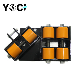 Yoci Small Cargo Roller heavy duty equipment loading to good transport trolley