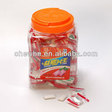 Yineng strawberry flavor brands of chewing gum