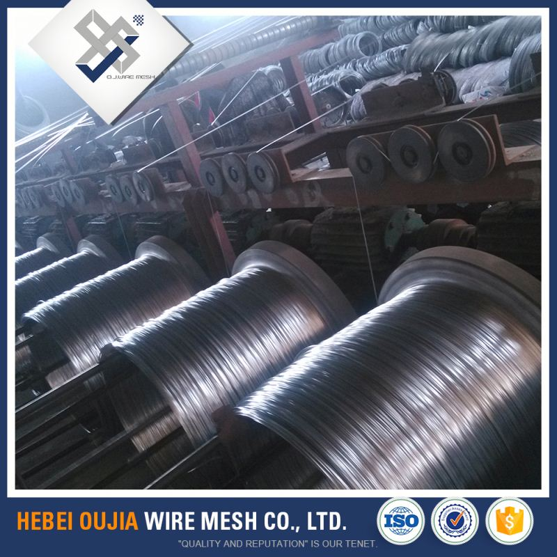 factory low price electro hot dipped galvanized steel iron wire