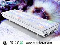 Large aquarium lighting Lumini Aqua Glisten 150R2 remote control submersible uv lamps