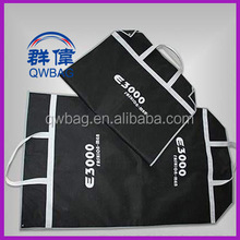 Customized pp nonwoven fabric foldable garment suit cover bag