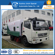 Affordable 7CBM pavement street cleaning truck/sweeper vehicle manufacturer