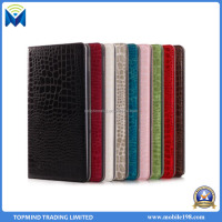 Crocodile pattern PU leather Tablet case for iPad mini 1/2/3, for iPad for Samsung Magnetic Closure tablet case