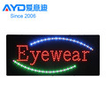 led acrylic sign,led open sign,led eyewear store signs