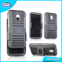 New Model Hard PC Case, Belt Clip Holster shell kickstand Plastic Case Cover for Moto G3 Ring holder case
