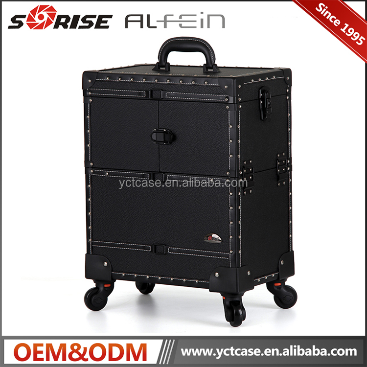 Professional Makeup Trolley Cosmetic Case Professional Carrying Case