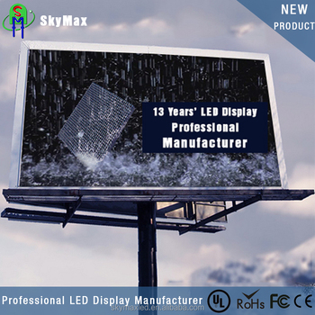 P10 Outdoor full color led screen displays/led advertising screen/led video wall panel price