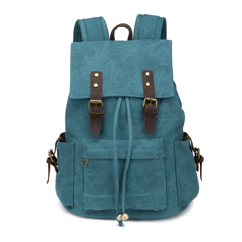 Wholesale custom durable Canvas Travel Backpack