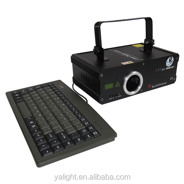 0.5w full color laser light/led laser light projector/ laser multifunction machine