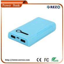 8000mAh Power Bank Charger Backup Travel Cell Phone Charger for iPhone, iPad, Samsung, HTC,