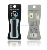New hold any device finger cell phone holder grip for you easy to text or play while walking