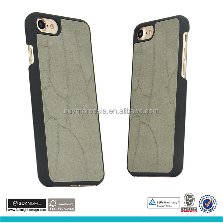 new fashion cement concrete phone case for iphone 7 cell phone back cover protective phone case
