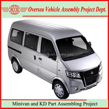 Not Suzuk Minivan but Made-in-China Comfortable 2WD LHD Gasoline 8 Seats Minivan