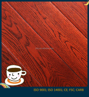 Hot Sale Red Color Chinese Oak Multilayer Engineered wood Flooring