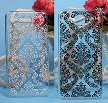New Painting Vintage Paisley Flower Hard PC Case For Alcatel one touch Idol Mini 6012 6012A 6012X 6012W For TCL S530T Case