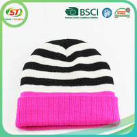 Crochet knit winter hat christmas hats wholesale knitted hat for kids and adults