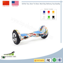 Ship from USA,China 10'' Big wheel off-road navigating Electric Scooter hoverboard unicycle Smart wheel Skateboard