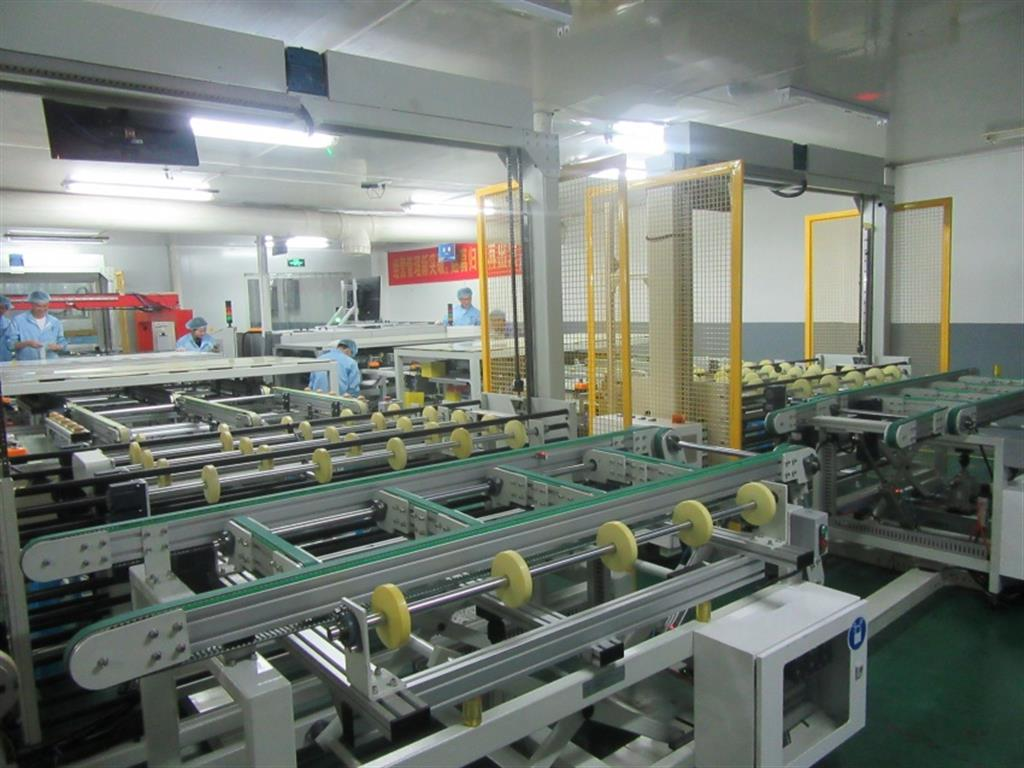 Automatic Machine Laying