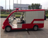 New mini 2 seats electric fire fighting truck made in China